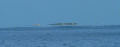 Fata Morgana: schwebende Insel